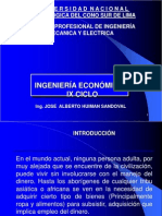 Ing Economica Sesion I JHS