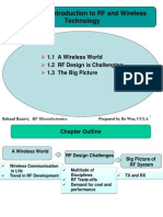 Chapter1 Introduction to RF and Wireless Technology