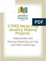3 Metal Clay Projects