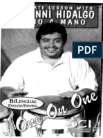Giovanni Hidalgo Mano a Mano