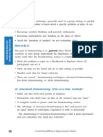 Brainstorming Techniques Types