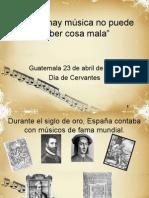Presentacion Cervantes Guitarra