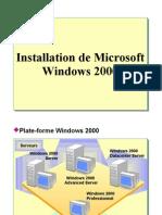 Installation Serveur W2K