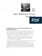 Alp ApE Open Publication License