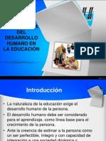 desarrollo humano en el aprendizaje