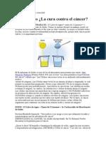 Bicarbonato Limon Cancer