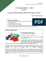 """207_M_13.03.12_Atualidades_Apostila de Atualidades 2 - 2012 - Blocos Econ""""micos e pa¡ses_ Prof. Celso Branco"""
