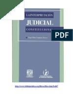 Libro Interpretacion Judicial Constitucional 1996