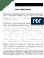 Revista de pensamiento y cultura Posmodernidad.doc
