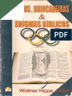 Jogo, brincadeiras & enigmas bíblicos  - Wolmer Hippe Júnior