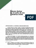 sueño de bolivar america unida