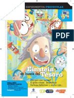 Cuaderno de Experimentos Infantil Einstein en Busca Del Tesoro