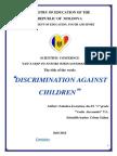 Discrimination Against Children