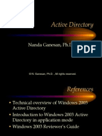1-Active Directory and Application