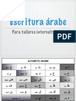 Escritura Arabe Para Talleres Interculturales