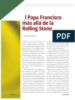 El Papa Francisco más allá de la Rolling Stone (La Nación 2385)
