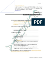 CapXV Medicamentos controlados