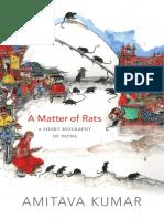 A Matter of Rats by Amitava Kumar