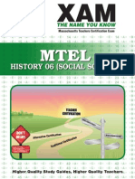 MTEL History (06) - Study Guide