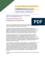 1.1.2.FUNCIONES Y LIMITACIONES DE LAS TIC EN EDUCACIÓN