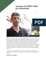 Chefes de Parque Do ICMBio Falam Dos Impactos Ambientais
