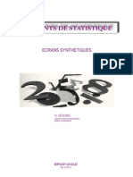 Elements de Statistique 3eme Version
