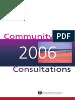 PEICA 2006 Public Consultation Report