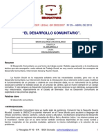 1.3 Breve Historia Del Desarrollo Comunitario (1)