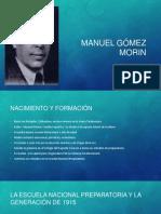 Manuel Gómez Morin