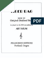 Tiger Rag Sheet Music (Art Tatum 1933 Version)
