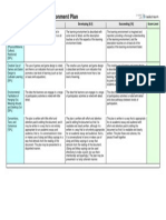 EDUC6814 Learning Enivronment Plan Rubric