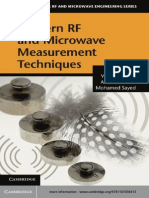 Rf Microwave Circuit Design For Wireless Applications Pdf