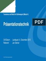 Praesentationstechnik Jan Steiner De