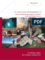Conservation and Management of Unconsolidated Geological Sections (English Nature, Report 563, 2004)