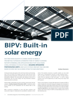 BIPV Built-In Solar Energy