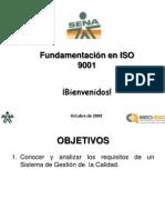 Fundamentacion en ISO 9001