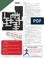 Fall/Winter Crossword