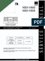 Aiwa+Nsx Nv900+Nsx v929
