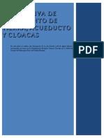 MEMORIA Acueducto y Cloacas