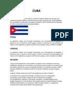 Cuba Zacatecas