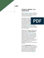 La Estructura Del Universo, UNAM 1