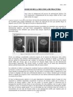 Recopilación de doctos sobre Mecanica de Fractura