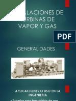 Instalaciones de Turbinas de Vapor y Gas