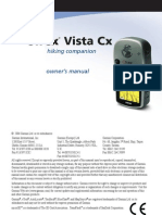 eTrexVistaCx Owners Manual