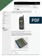 Como Usar o Display Nokia5110 Com o Arduino