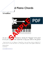 Guitar and Piano Chords Sample