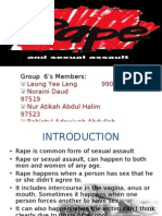 Presentation Group 5 EDIT ( Rape and Sexual)-Latest