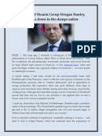 The Michael Shearin Group Morgan Stanley, France a Down-In-The-dumps Nation