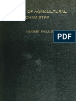 A Manual of Agricultural Chemistry (1913)