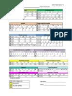 Campos Formativos Para Evaluar Lista de Cotejo